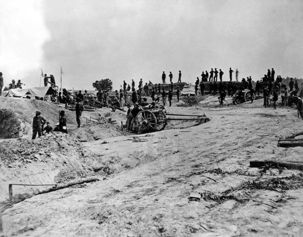 Mathew Photograph - Civil War-photo Shows Mathewb. Brady by Everett