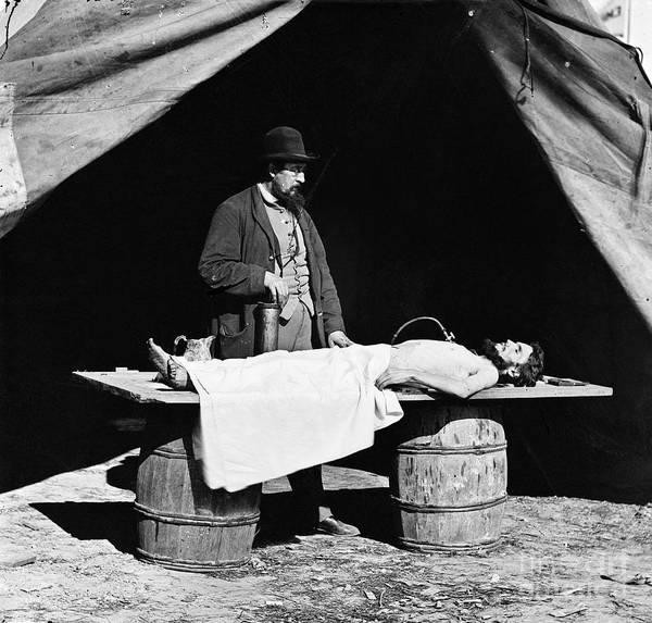 Photograph - Civil War: Surgeon by Granger