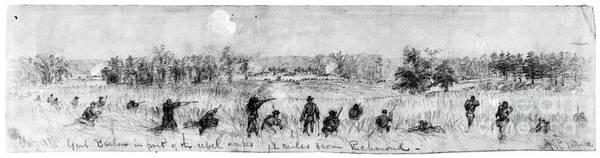 Photograph - Civil War: Union Troops by Granger