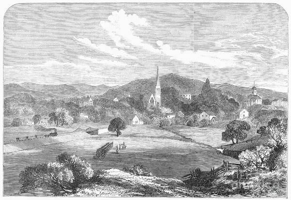 Warrenton Wall Art - Photograph - Civil War: Warrenton, 1863 by Granger