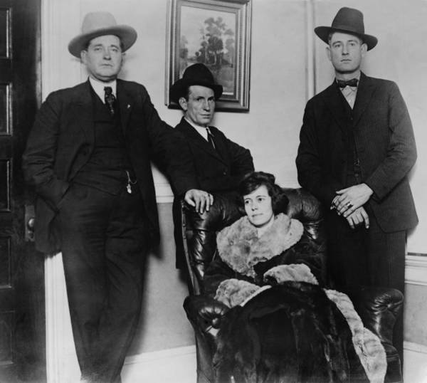 Mistress Photograph - Clara Smith Hamon, Secretary And Lover by Everett