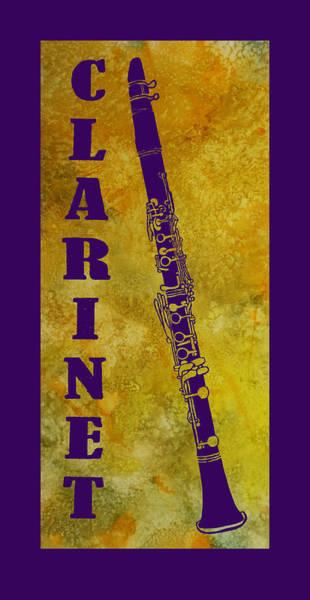 Clarinet Wall Art - Digital Art - Clarinet by Jenny Armitage