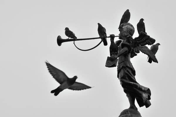 Lima Photograph - Clarinet Statue by CarlosAlbertoPhoto