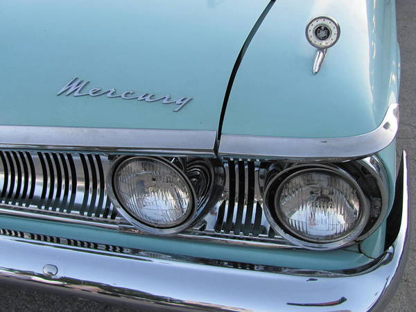 Photograph - Classic Car Mercury 1 by Anita Burgermeister