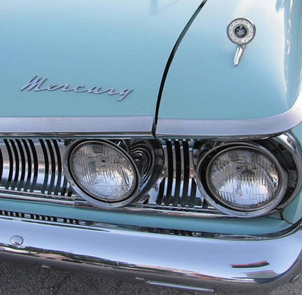Photograph - Classic Car Mercury 2 by Anita Burgermeister