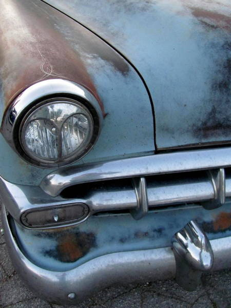 Photograph - Classic Car Rust 3 by Anita Burgermeister