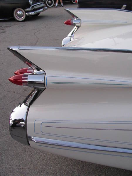 Photograph - Classic Car Tail Fin 3 by Anita Burgermeister