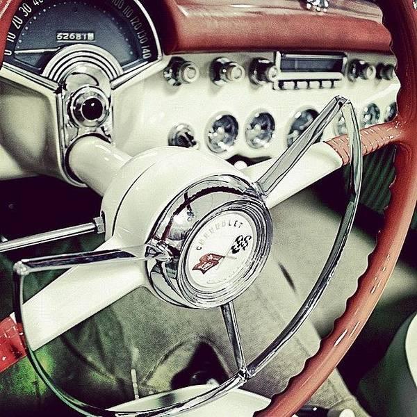 Chevrolet Corvette Photograph - #classic #chevrolet #corvette by Junior  Scholars