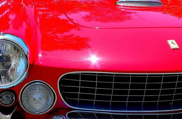 Photograph - Classic Ferrari by Jeff Lowe