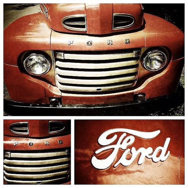 Autos Photograph - Classic Ford Truck by Natasha Marco