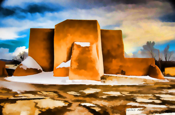 Digital Art - Classic In Abstract by Charles Muhle