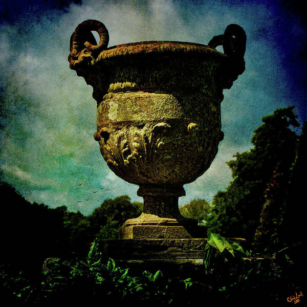 Photograph - Classic Monumental Garden Urn by Chris Lord