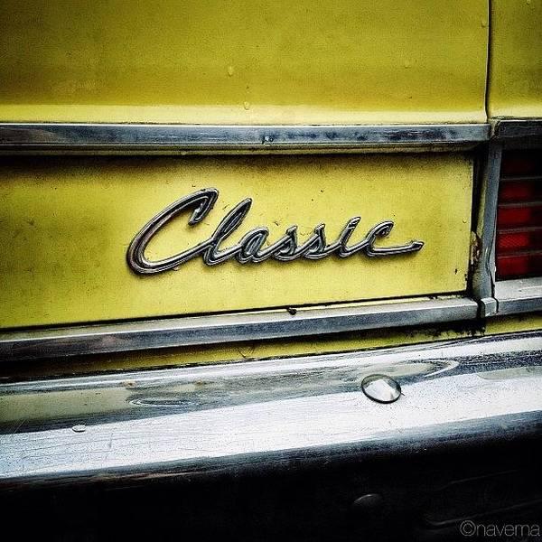 Autos Photograph - Classic Rambler by Natasha Marco
