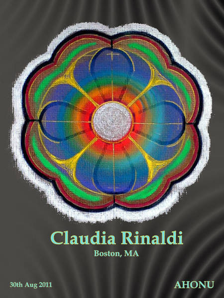 Painting - Claudia Rinaldi by Ahonu