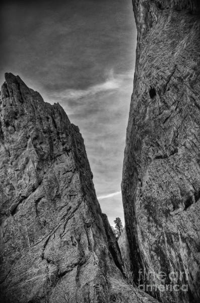 Photograph - Cleft Of The Rock II by David Waldrop