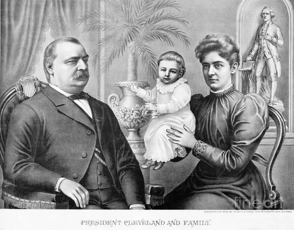 Allison Photograph - Cleveland Family, C1893 by Granger