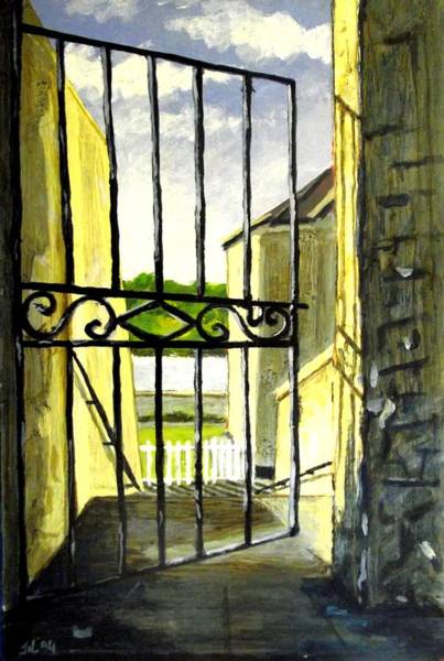 Galway Painting - Clifden Gateway Co. Galway by John  Nolan