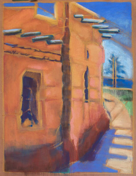 Painting - Cliff Dwelling Los Alamos New Mexico by Suzanne Cerny