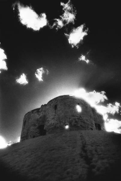 Dim Photograph - Cliffords Tower by Simon Marsden