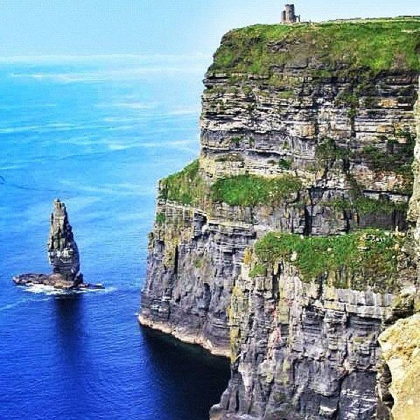 Sea Photograph - Cliffs Of Moher - Ireland by Luisa Azzolini