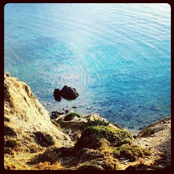 Climb Down To Secret Beach (not So Art Print