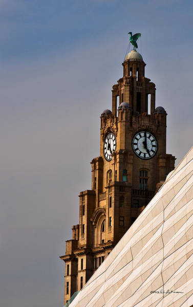 Photograph - Clock Tower by Edward Peterson