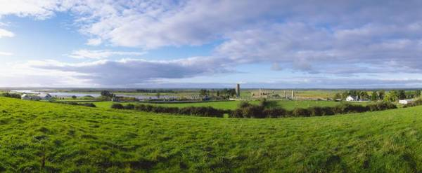 Horizontally Photograph - Clonmacnoise, Co Offaly, Ireland by The Irish Image Collection
