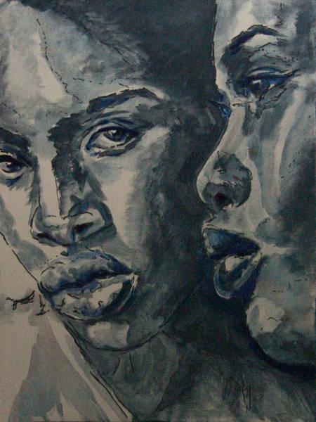 Wall Art - Painting - Close by Laura Heggestad