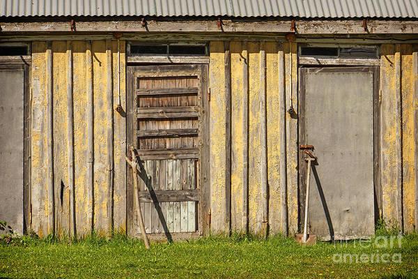 Photograph - Closed Doors by Lutz Baar