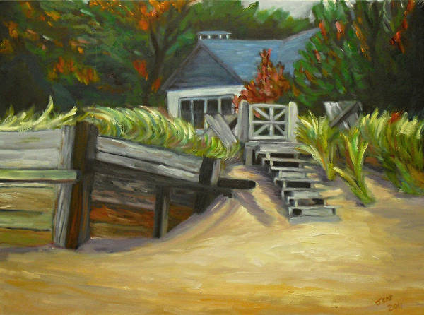 Painting - Closed For The Season by Jeremy McKay