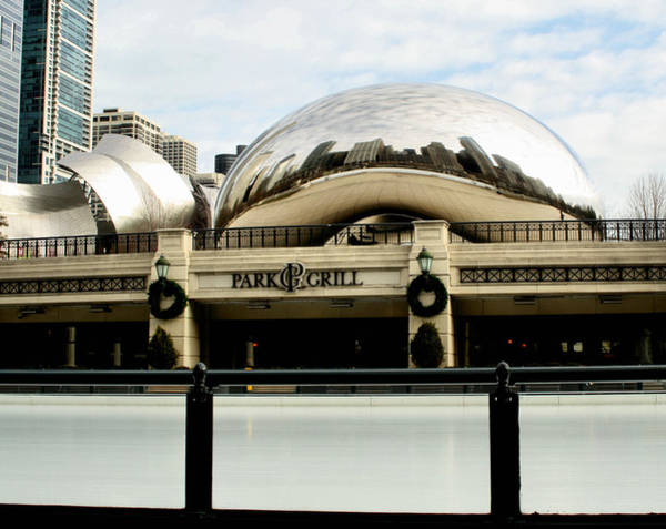 Millenium Photograph - Cloud Gate - 2 by Ely Arsha