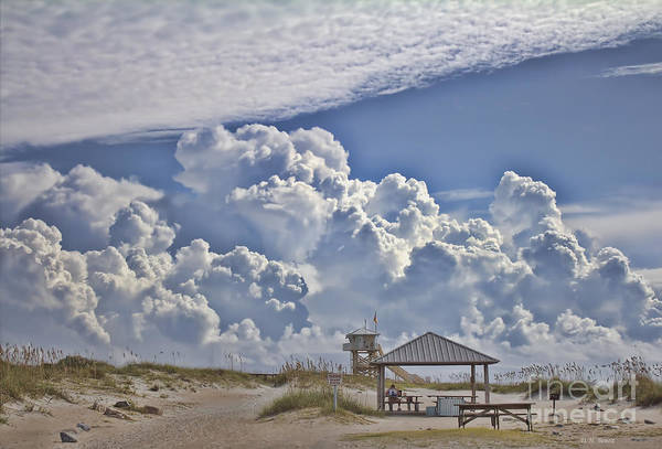 Photograph - Cloud Merge by Deborah Benoit