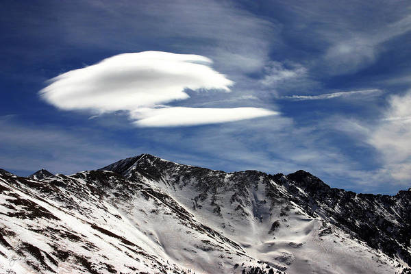 Photograph - Cloud Over Loveland by Wayne King