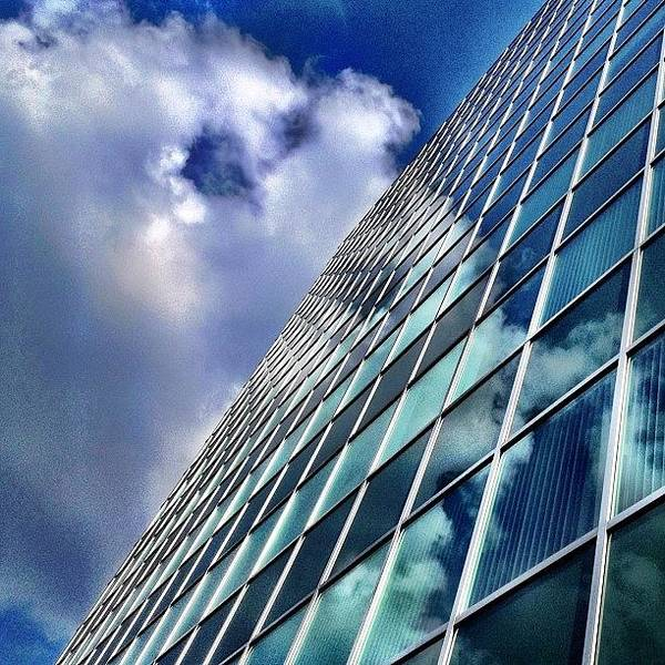 Wall Art - Photograph - Cloud Reflections by Christopher Campbell