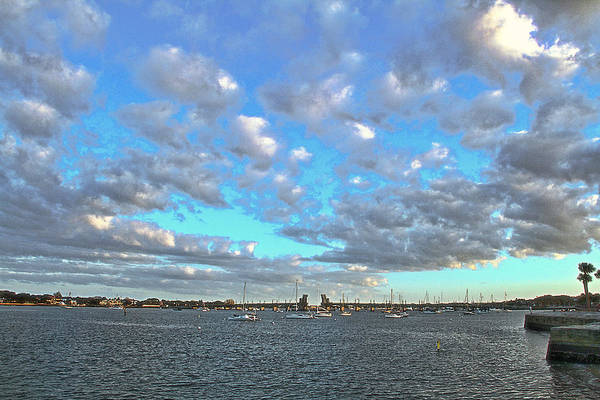 Photograph - Cloud View From The Old Fort by Alice Gipson