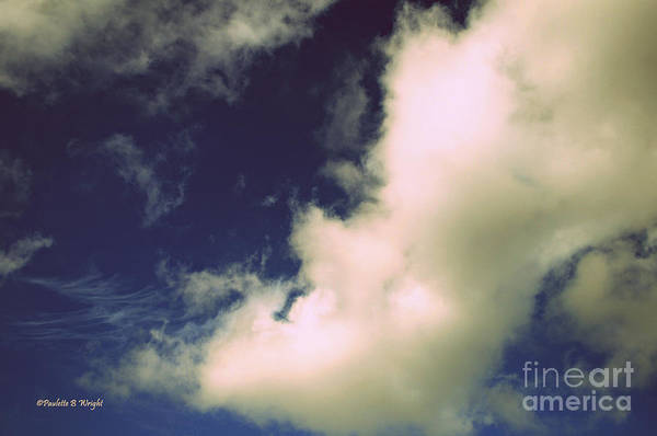 Photograph - Clouds-11 by Paulette B Wright