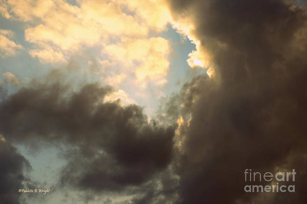 Photograph - Clouds-4 by Paulette B Wright