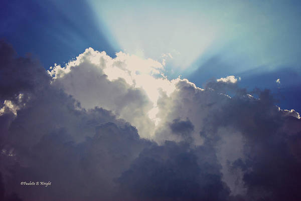 Photograph - Clouds-6 by Paulette B Wright