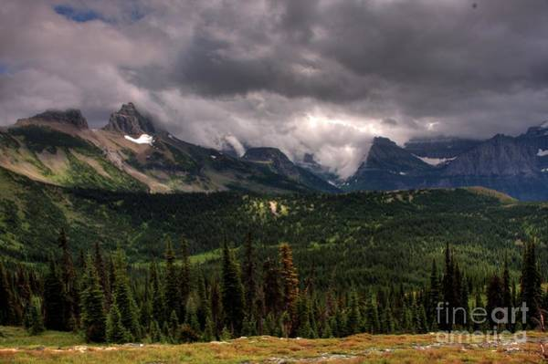 Photograph - Clouds Lifting Landscape  by Katie LaSalle-Lowery