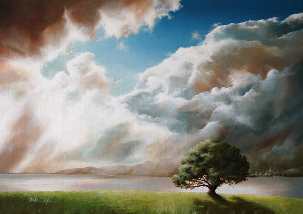 Lightening Painting - Clouds by Mario Pichler