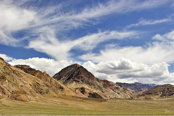 Photograph - Clouds Over Death Valley by Endre Balogh