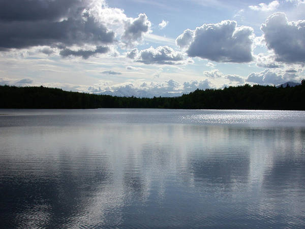 Photograph - Clouds Over Lake by Jan Piet