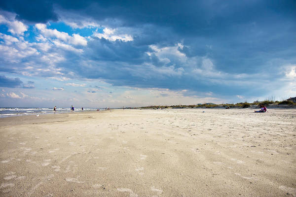 Saint Augustine Florida Photograph - Clouds That Speak by Betsy Knapp