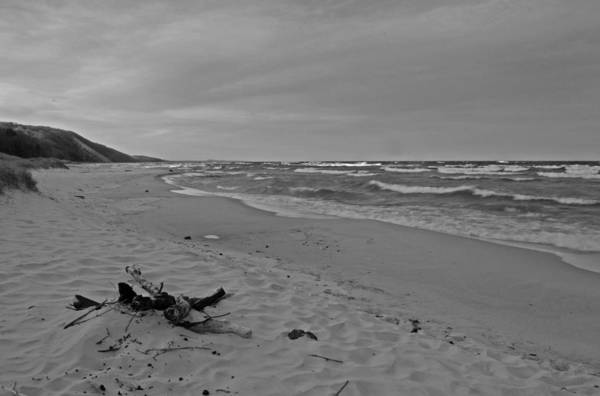 Traverse City Photograph - Cloudy At Pierport Beach by Twenty Two North Photography