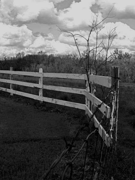 Wall Art - Photograph - Cloudy Day In The Counrty by Brigette Hollenbeck