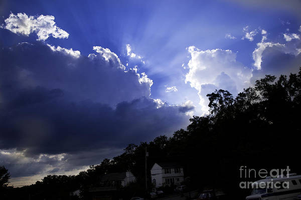 Houses Wall Art - Photograph - Cloudy With A Chance Of Sunshine by Madeline Ellis