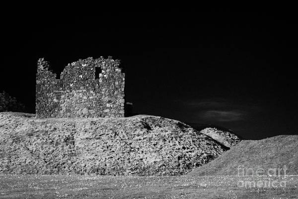 Wall Art - Photograph - Clough Castle Motte Bailey County Down Northern Ireland by Joe Fox