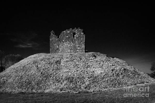 Wall Art - Photograph - Clough Castle Norman Motte Bailey County Down Northern Ireland by Joe Fox