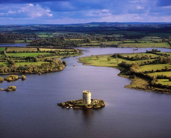 Horizontally Photograph - Cloughoughter Castle, Co Cavan, Ireland by The Irish Image Collection