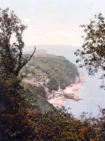 Bristol Channel Photograph - Clovelly - England - View From Hobby Drive by International  Images